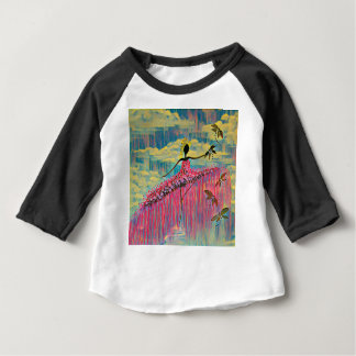 DANCER AND DRAGONFLIES 12 BABY T-Shirt
