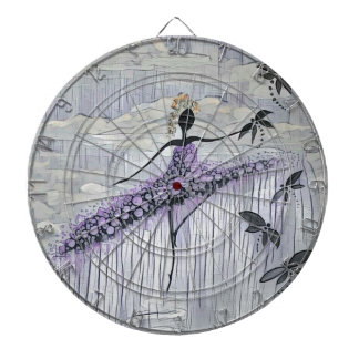 DANCER AND DRAGONFLIES 13 DARTBOARD