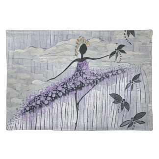 DANCER AND DRAGONFLIES 13 PLACEMAT