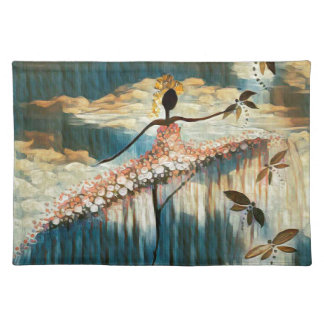 DANCER AND DRAGONFLIES 14 PLACEMAT