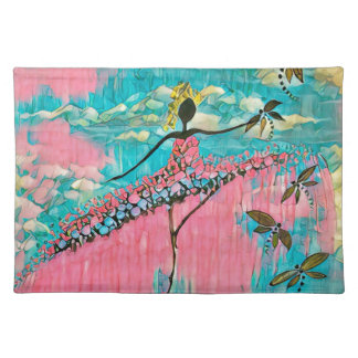 DANCER AND DRAGONFLIES 15 PLACEMAT