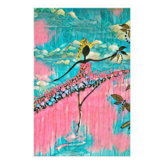 DANCER AND DRAGONFLIES 15 STATIONERY
