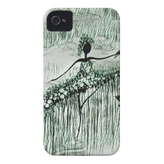 DANCER AND DRAGONFLIES 16 Case-Mate iPhone 4 CASES
