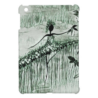 DANCER AND DRAGONFLIES 16 iPad MINI COVER