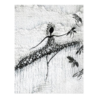 DANCER AND DRAGONFLIES 17 LETTERHEAD