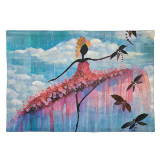 DANCER AND DRAGONFLIES 18 PLACEMAT