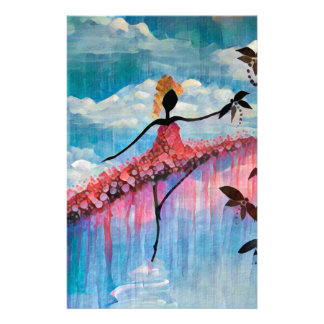 DANCER AND DRAGONFLIES 18 STATIONERY