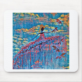 DANCER AND DRAGONFLIES 19 MOUSE PAD