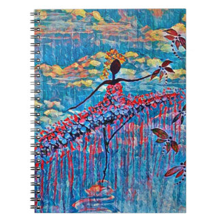 DANCER AND DRAGONFLIES 19 NOTEBOOKS