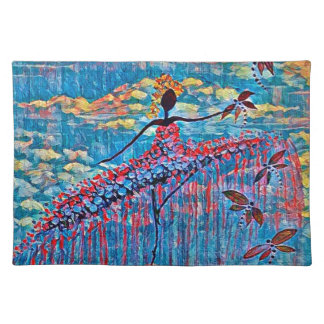 DANCER AND DRAGONFLIES 19 PLACEMAT