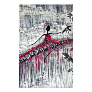 DANCER AND DRAGONFLIES 21 STATIONERY