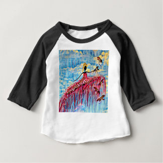 DANCER AND DRAGONFLIES 22 BABY T-Shirt