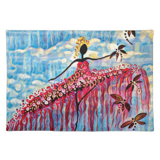 DANCER AND DRAGONFLIES 22 PLACEMAT