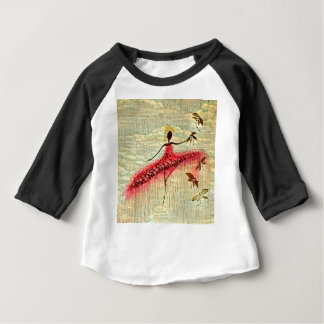 DANCER AND DRAGONFLIES 23 BABY T-Shirt