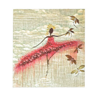 DANCER AND DRAGONFLIES 23 NOTEPAD