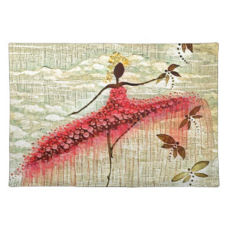 DANCER AND DRAGONFLIES 23 PLACEMAT