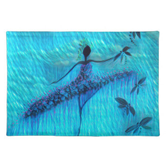 DANCER AND DRAGONFLIES 24 PLACEMAT