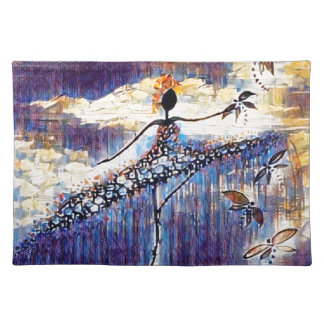 DANCER AND DRAGONFLIES 25 PLACEMAT