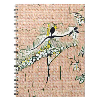 DANCER AND DRAGONFLIES 27 NOTEBOOK