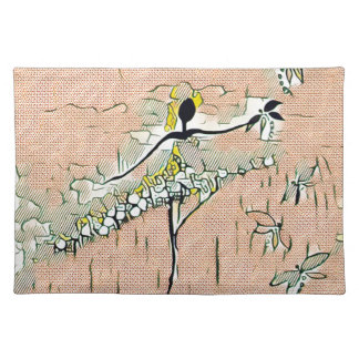 DANCER AND DRAGONFLIES 27 PLACEMAT