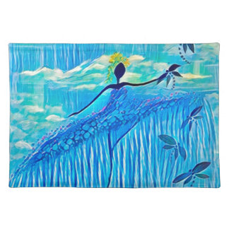 DANCER AND DRAGONFLIES 29 PLACEMAT