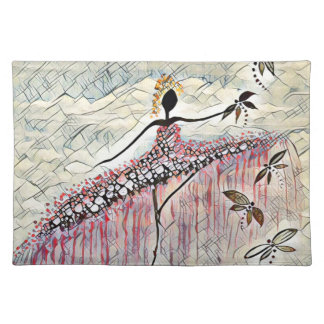 DANCER AND DRAGONFLIES 2 PLACEMAT