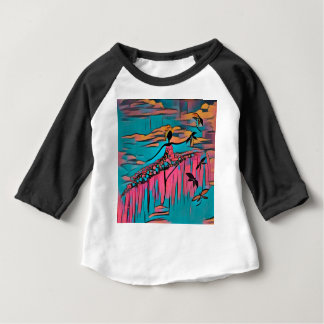 DANCER AND DRAGONFLIES 30 BABY T-Shirt