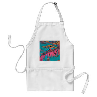 DANCER AND DRAGONFLIES 30 STANDARD APRON