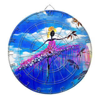 DANCER AND DRAGONFLIES 31 DARTBOARD