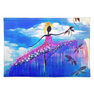 DANCER AND DRAGONFLIES 31 PLACEMAT