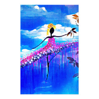 DANCER AND DRAGONFLIES 31 STATIONERY