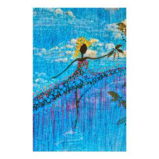 DANCER AND DRAGONFLIES 34 STATIONERY
