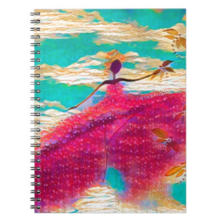 DANCER AND DRAGONFLIES 35 NOTEBOOKS