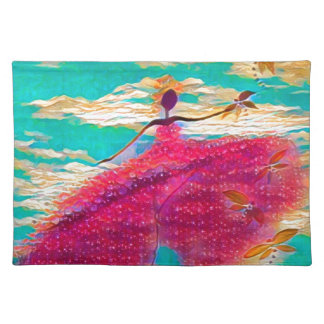 DANCER AND DRAGONFLIES 35 PLACEMAT
