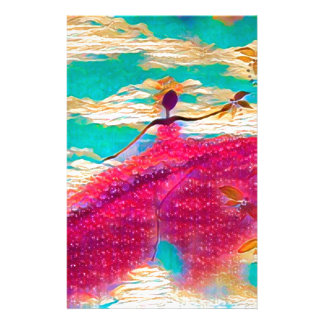 DANCER AND DRAGONFLIES 35 STATIONERY