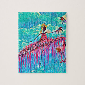 DANCER AND DRAGONFLIES 3 JIGSAW PUZZLE