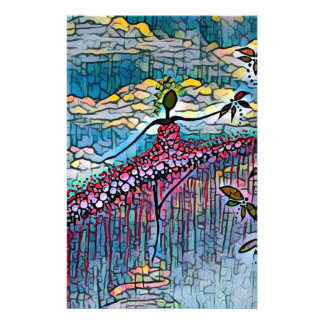DANCER AND DRAGONFLIES 4 STATIONERY