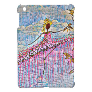 DANCER AND DRAGONFLIES 5 iPad MINI COVER