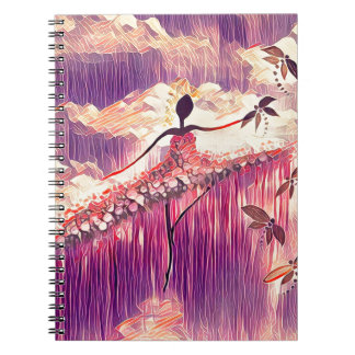 DANCER AND DRAGONFLIES 6 NOTEBOOK