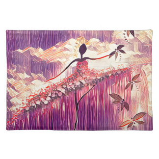 DANCER AND DRAGONFLIES 6 PLACEMAT