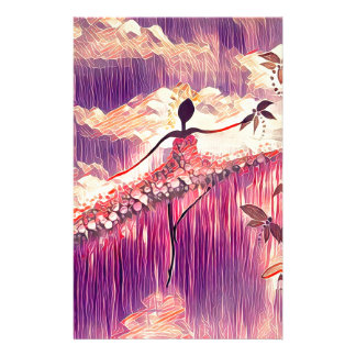 DANCER AND DRAGONFLIES 6 STATIONERY