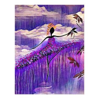 DANCER AND DRAGONFLIES 7 LETTERHEAD