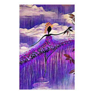 DANCER AND DRAGONFLIES 7 STATIONERY