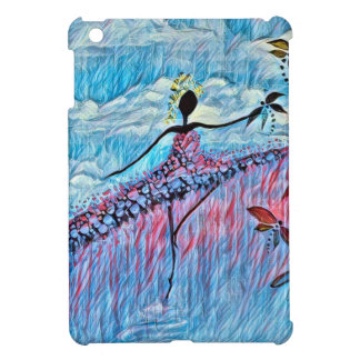 DANCER AND DRAGONFLIES 8 CASE FOR THE iPad MINI