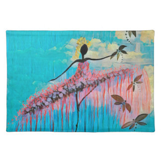 DANCER AND DRAGONFLIES 9 PLACEMAT