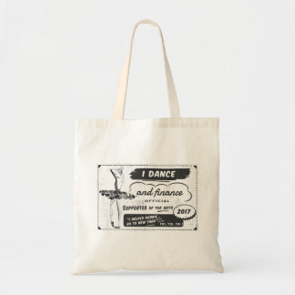 Dancer and Financer of the Arts - Robbie Downey Tote Bag