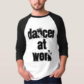Dancer at Work Men's 3/4 Sleeve T-Shirt