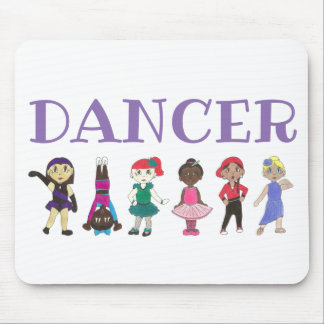DANCER Ballet Tap Jazz Lyrical Acro Dance Teacher Mouse Pad