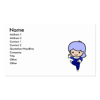 Dancer Boy Business Card