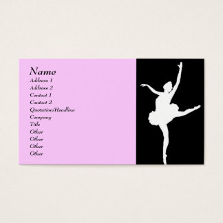 Dancer Business Card